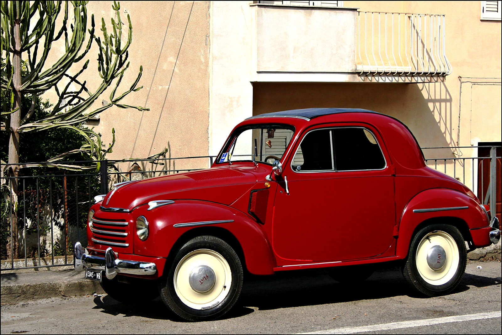 flash back friday - fiat 500 topolino -1936 - 1955 - resto my ride
