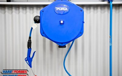 Hare & Forbes Machineryhouse Air Hose Reel including Dusting Gun