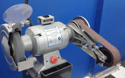 Hare & Forbes Machineryhouse Bench Grinder with Linisher