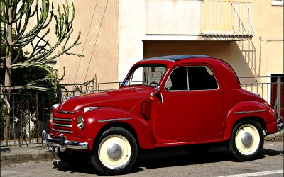 Flash Back Friday – Fiat 500 Topolino -1936 – 1955