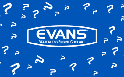 What is Evans Waterless Engine Coolant?
