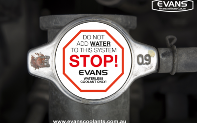 EVANS Waterless Engine Coolant sponsor Resto my Ride on the 2017 Variety Bash